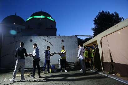 باشگاه خبرنگاران -حال و هوای ماه رمضان در مسجد جامع مسلمانان_ کیف اوکراین