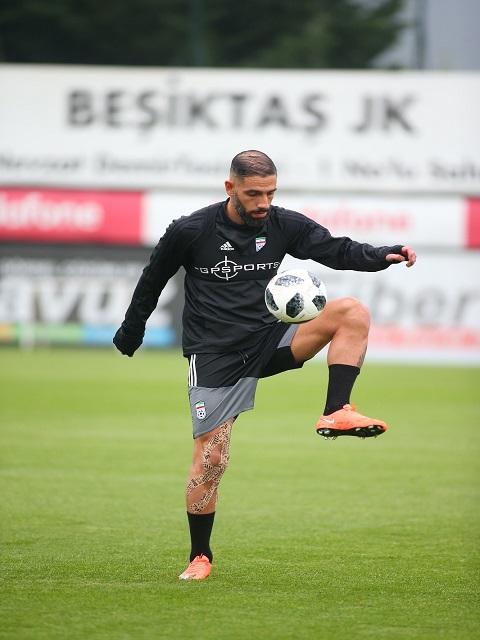 ادامه تمرینات تیم ملی فوتبال در ترکیه
