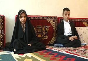 خواهر و برادر روشندلی که حافظ کل قرآن هستند + فیلم