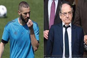 حمله بنزما به رئیس فدراسیون فوتبال فرانسه