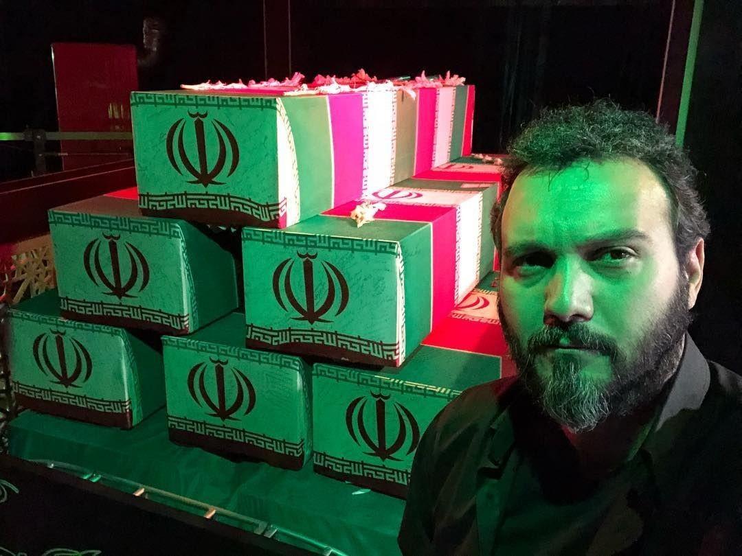 زیباترین سلفی کامبیز دیرباز/ ادامه تصویربرداری «شرایط خاص» در معراج الشهدا تهران