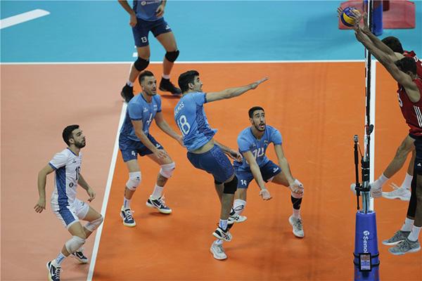 گزارش لحظه به لحظه دیدار والیبال ایران و آرژانتین