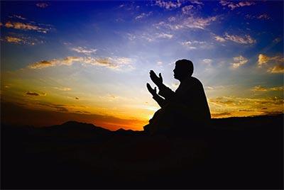 دعا، بلاگردان قـضا و مسیر امـن تـمنا