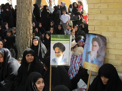 زادگاه امام راحل در سوگ پیرخمین