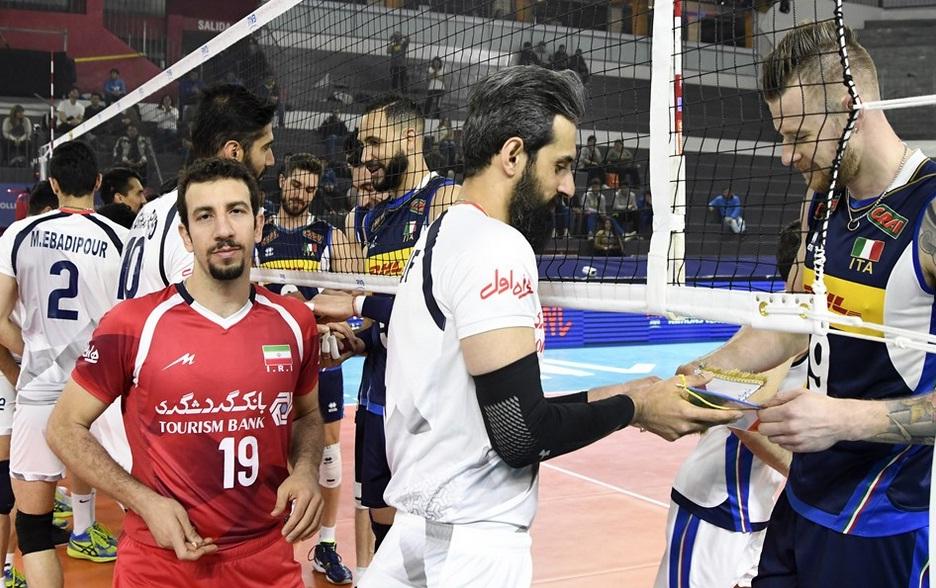 گزارش لحظه به لحظه از دیدار دو تیم ایران و ایتالیا/ ست اول به لاجوردیپوشان رسید