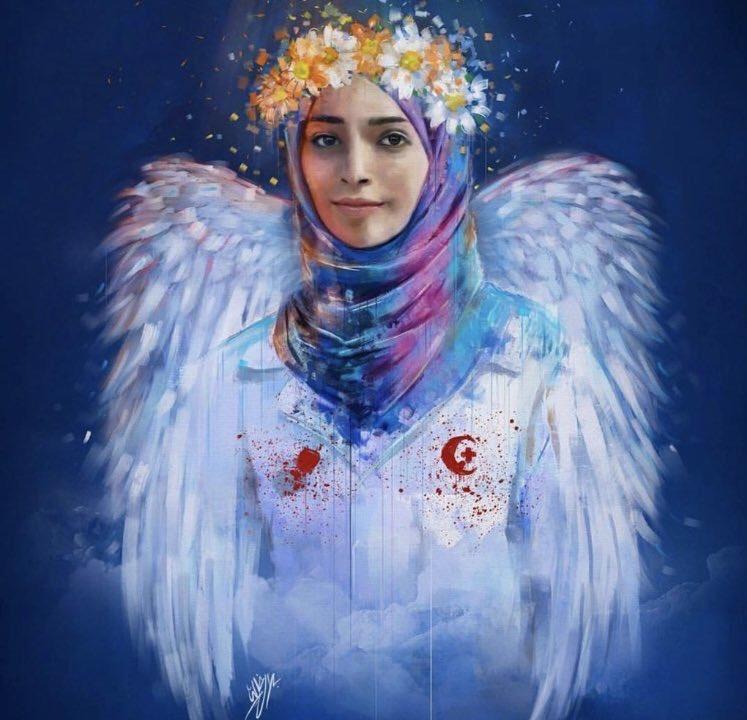 لکه ننگ به شهادت رساندن مظلومانه امدادگر زن فلسطینی بر پیشانی آمریکا و اسرائیل