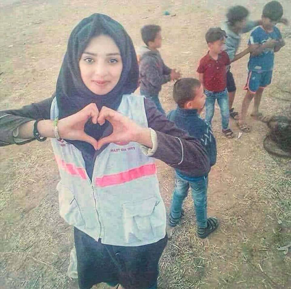 شهادت مظلومانه امدادگر زن فلسطینی لکه ننگی بر پیشانی آمریکا و اسرائیل