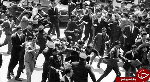 عکسهای کمتر دیده شده از قیام خونین 15 خرداد