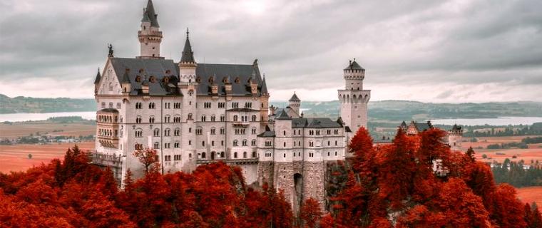 دیدنیترین قلعه آلمان