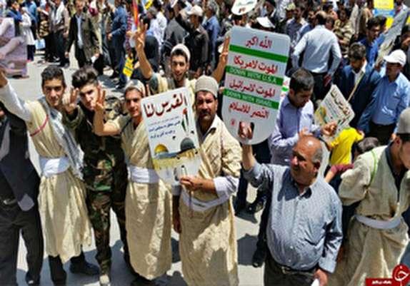 باشگاه خبرنگاران -اعلام مسیرهای راهپیمایی روز جهانی قدس درکهگیلویه وبویراحمد