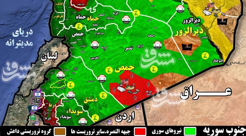 از اعزام کاروان بزرگ «ببرهای سوریه» به استان درعا تا جزئیات محورهای عملیاتی ارتش سوری در جبهه جنوب + فیلم