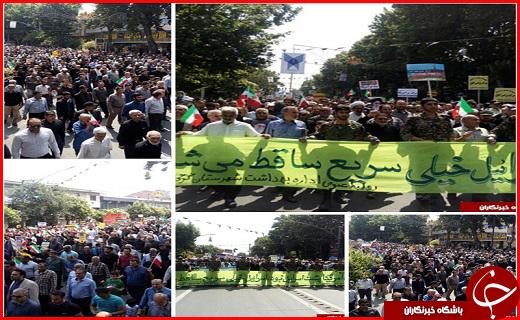 آغاز راهپیمایی روز جهانی قدس در سراسر ایران