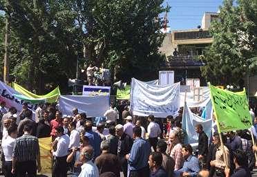 آغاز راهپیمایی روز جهانی قدس در مهاباد