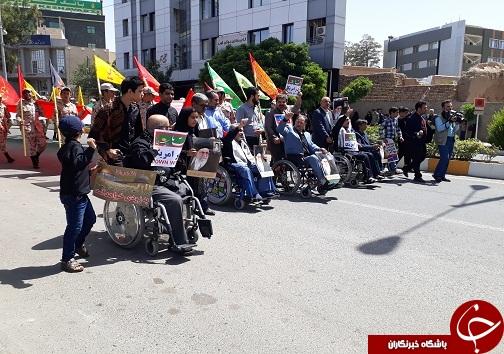 راهپیمایی روز قدس در بیرجند آغاز شد