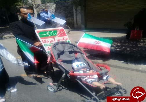 راهپیمایی روز قدس در شهرهای مازندران به روایت تصویر
