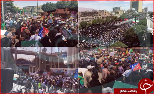 روز جهانی قدس در سراسر ایران