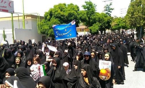 آغاز راهپیمایی روز قدس در آذربایجان شرقی+تصاویر