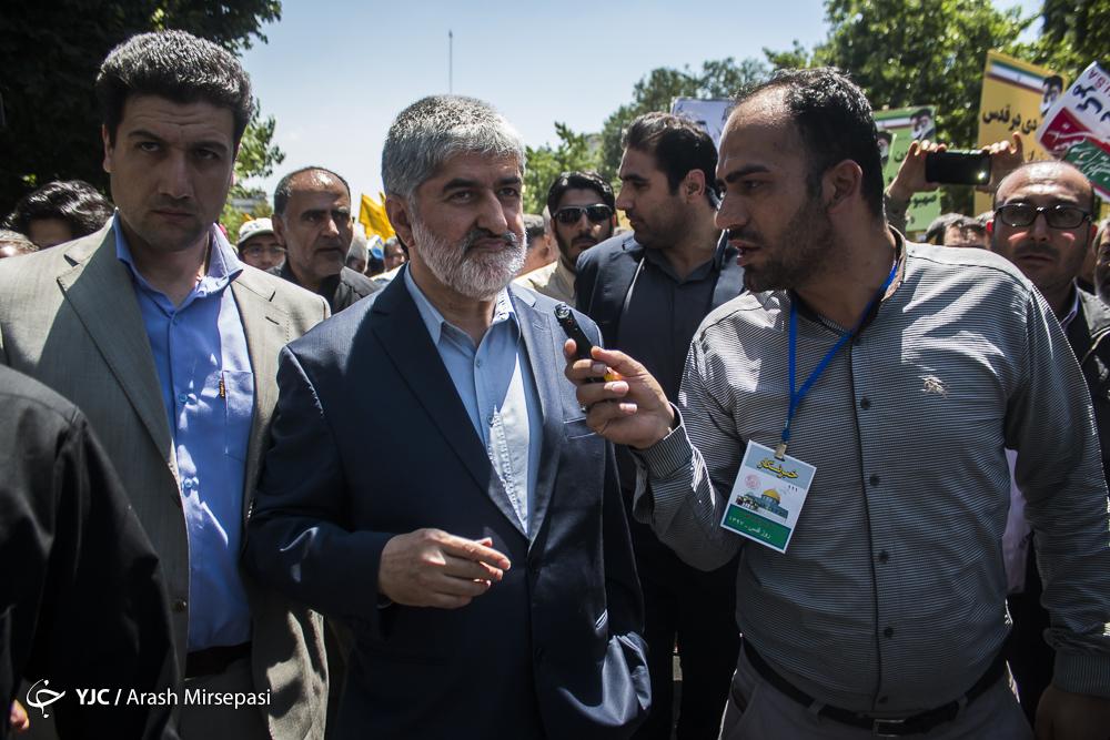 حمایت همه جانبه تهرانیها از آرمان فلسطین/ برگزاری علنی دادگاه ترامپ در روز قدس