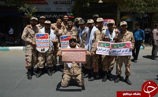 آغاز راهپیمایی روز قدس در یزد +تصاویر