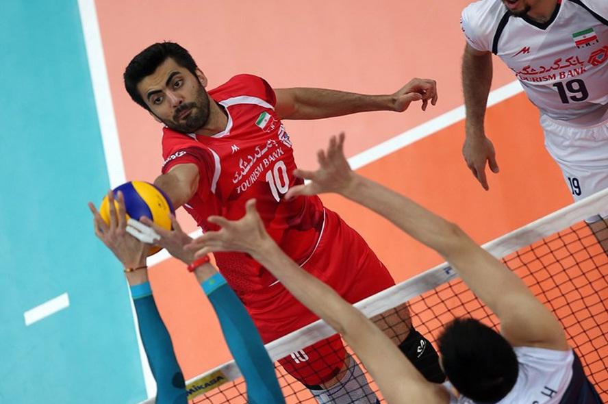 ایران ۳ – چین صفر / پیروزی مقتدرانه بلندقامتان والیبال مقابل چشمبادامیها