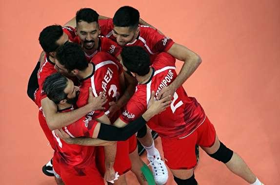 باشگاه خبرنگاران -ایران ۳ – چین صفر / پیروزی مقتدرانه بلندقامتان والیبال مقابل چشمبادامیها