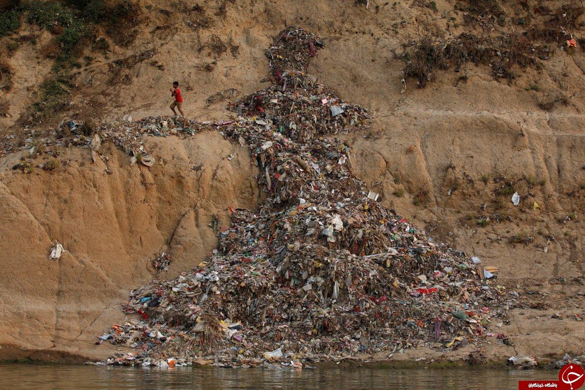 آلوده ترین روخانه جهان+عکس