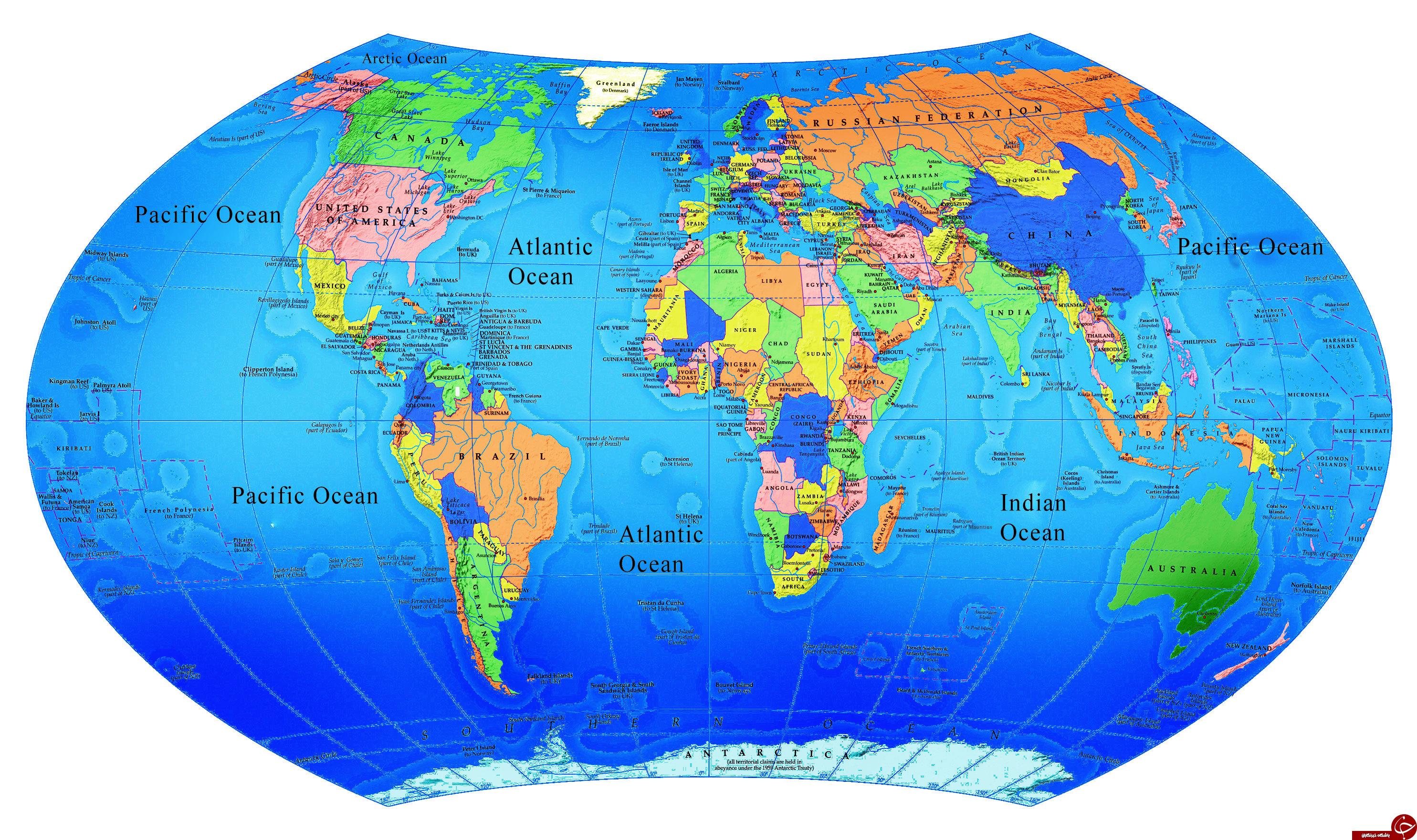 عکس پرچم کشورها با نام کشورها