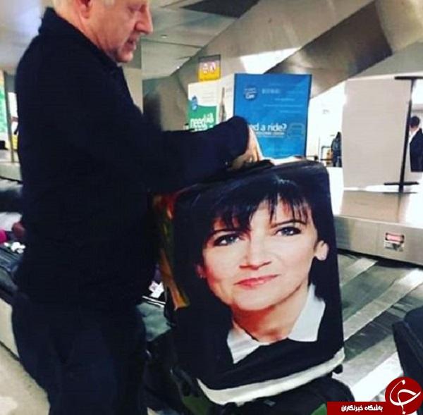 راهحلی عالی برای گم نشدن چمدان در سفر+ تصاویر