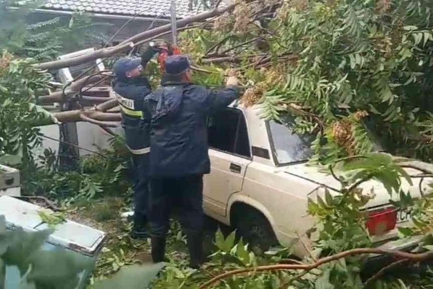طوفان پایتخت قزاقستان را درنوردید