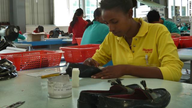 اتیوپی، کارخانه چین در آفریقا