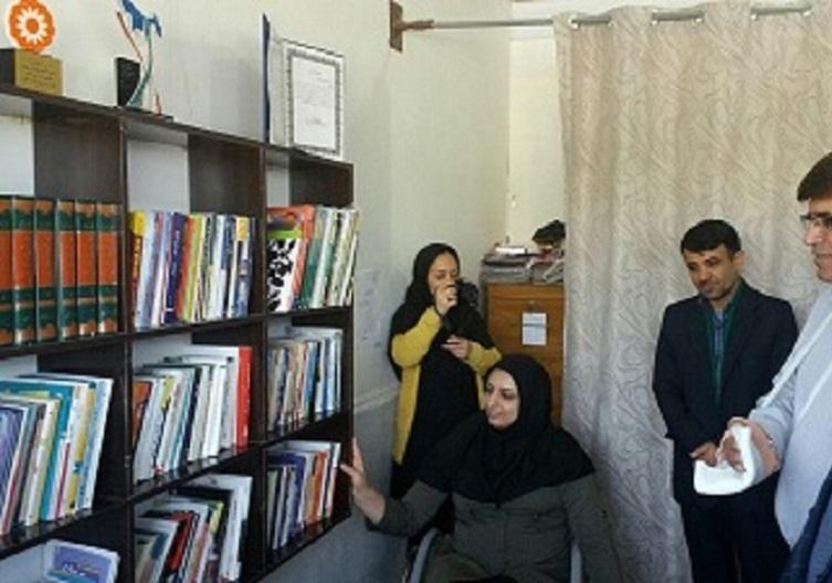 ایجاد کتابخانه روستایی باعث توسعه میشود