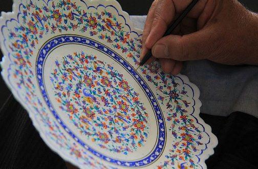 ضرورت احیای هنر مینا کاری در آذربایجان شرقی