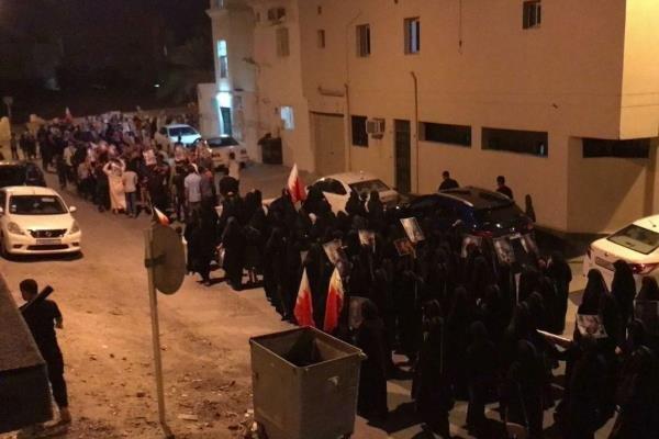 مردم بحرین تظاهرات گسترده برپا کردند
