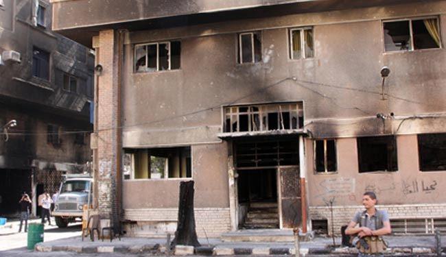 آتش زدن خانههای مردم جنوب دمشق توسط بقایای داعش