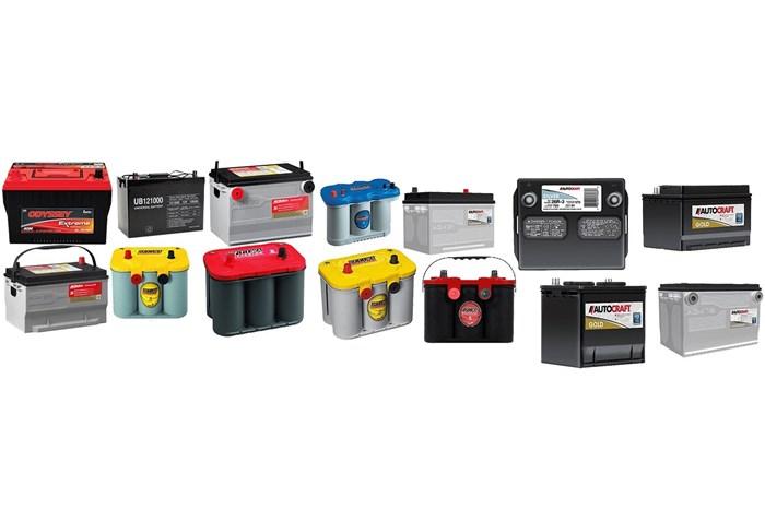 قیمت انواع باتری اتومبیل در بازار + جدول