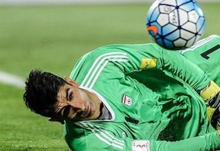 تنها راه شکست بیرانوند در جام جهانی ۲۰۱۸