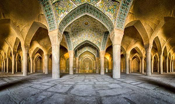 مسجد نو شیراز؛ بزرگترین مسجد کشور