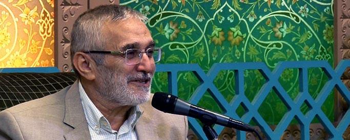 مناجات حاج منصور ارضی در شب های رمضان ۹۷