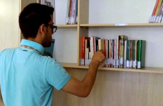 کتابخانهای اختصاصی برای بیماران اوتیسم + فیلم