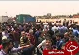 باشگاه خبرنگاران -تجمع اعتراض آمیز کامیونداران در یزد
