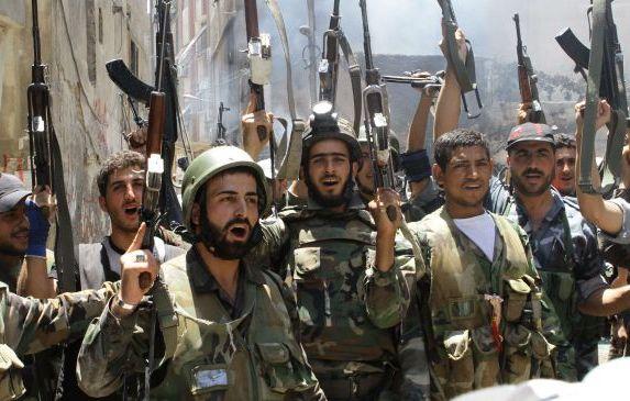 یورش داعش در بادیة المیادین توسط ارتش سوریه