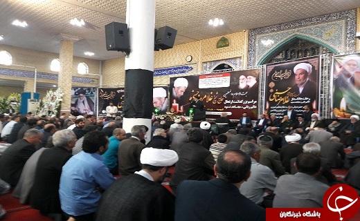 مراسم بزرگداشت ارتحال حجت الاسلام حسنی در ارومیه برگزار شد+تصاویر