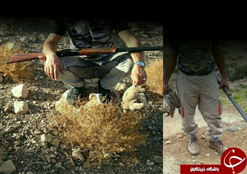  به دام افتادن شکارچی غیر مجاز با انتشار عکس در اینستاگرام + عکس