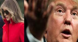 همسر ترامپ در حال فرار از کاخ سفید! +فیلم