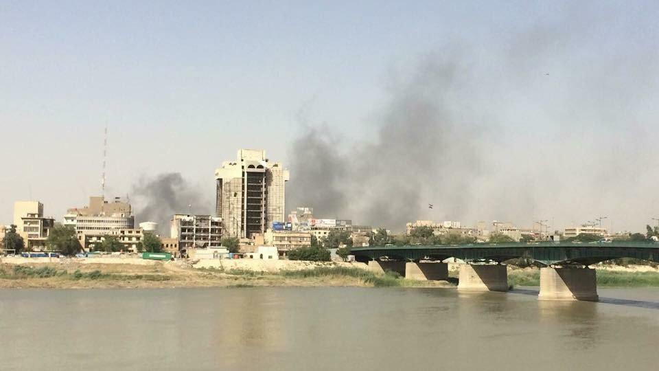 آتشسوزی در بزرگترین انبار نگهداری آراء در عراق