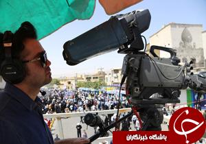 ۸۰ گروه رسانهای حضور مردم استان فارس را در روز جهانی قدس به تصویر کشیدند