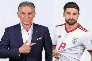 جهانبخش شاخصترین بازیکن ایران در جام جهانی ۲۰۱۸