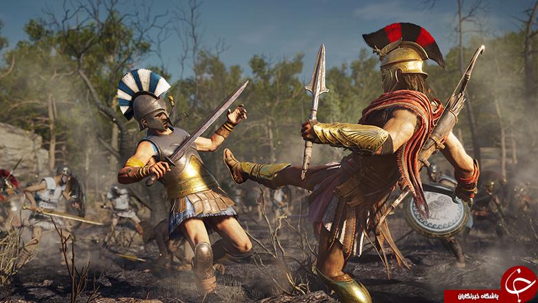 عنوان Assassin's Creed Odyssey در کنفرانس یوبیسافت معرفی شد +تصاویر