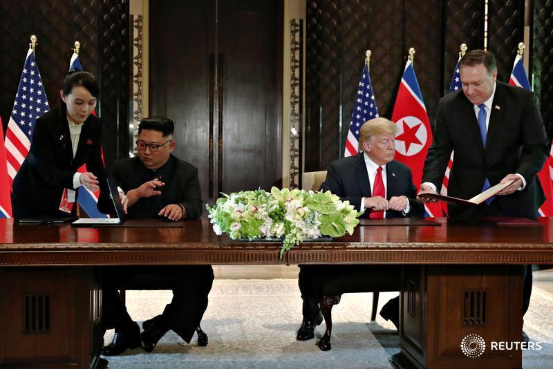 ترامپ و کیم جونگ اون با یکدیگر دیدار کردند