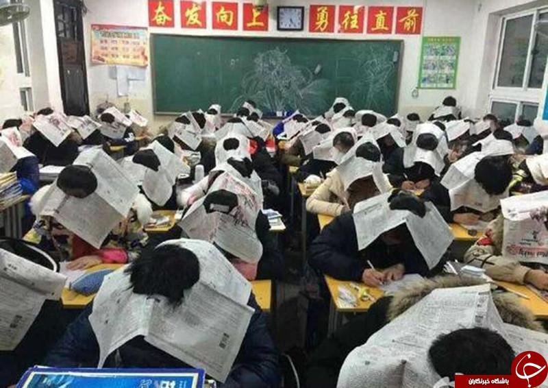 روش عجیب مقابله با تقلب در چین + تصاویر